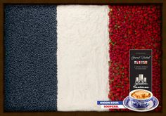 """France"" Print Ad for Sanborns International Gourmet Festival by Grey Dot, Mexico"