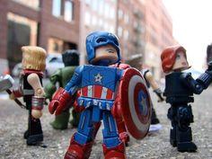 Marvel Minimates Captain America