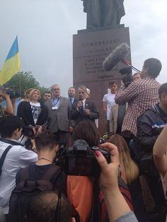 Kyiv: Dzhemilev speaks. 70yrs since Stalin's deportation of Crimea Tatars, their leader isn't allowed in Crimea again pic.twitter.com/BLZzs2eX7H