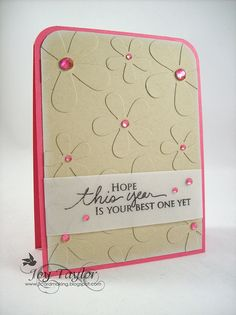 Love the same color embellishment love it must reproduce this will all my green gems I have with retro flower folder