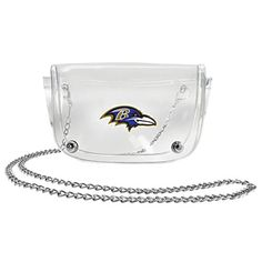 NFL Baltimore Ravens Clear Waist PackCrossbody Purse * Continue to the product at the image link.