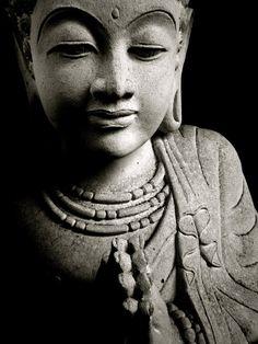 Buddha radiating loving kindness...
