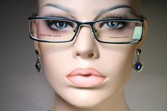 Size Small CAPUCCINO K820NA Nickel Free Turquoise Glasses Frames Part Rimless #Capuccino