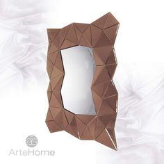 Lustro dekoracyjne ArteHome Amber | sklep PrezentBox - akcesoria, zegary ścienne, prezenty