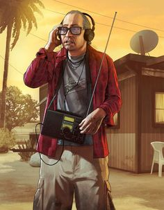Thanks to officialplaystationmagazine, we have a bunch of new artwork from GTA V (Grand Theft Auto Rockstar's upcoming open-world third-person San Andreas, Grand Theft Auto 4, Grand Theft Auto Series, Game Character Design, Character Concept, Concept Art, Game Concept, New Gta, V Games