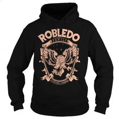 ROBLEDO FAMILY - #gift for dad #shirts. ORDER NOW => https://www.sunfrog.com/Names/ROBLEDO-FAMILY-Black-Hoodie.html?60505