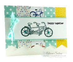 Pedal pusher stamp set free sale-a-bration reward www.stampcrazywithalison.ca