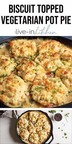 Vegetarian Crockpot Recipes, Sweet Potato Recipes Healthy, Vegetarian Chicken, Healthy Recipe Videos, Vegetarian Pot Pies, Chicken And Veggie Recipes, Healthy Crockpot Recipes, Slow Cooker Recipes, Beef Recipes
