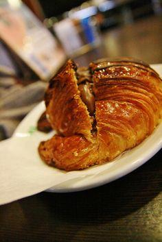 Nutella Croissant.