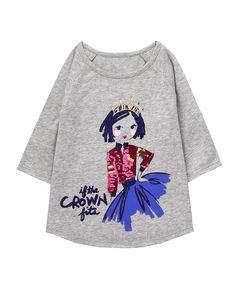 1378e791 Princess Tee. Future DaughterGymboreeHeather GreyGraphic SweatshirtGirl  OutfitsGirls DressesHeather Gray
