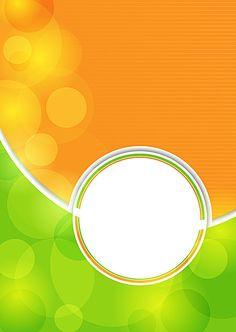 Fresh orange circles white green background Free Background Photos, Banner Background Images, Collage Background, Background Templates, Background Patterns, Wallpaper Images Hd, Background Images Wallpapers, Powerpoint Background Design, Poster Background Design