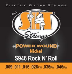 SIT String S946 Rocknroll Nickel Wound Electric Guitar String >>> Check out this great product.Note:It is affiliate link to Amazon.