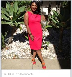 Timeless Sheath...#Colorblock #Classy STYLE! STYLED by Bron'tai~