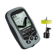 Hot Selling 16 Levels Grayscale FSTN LCD Duel Beam Sonar Portable Fish Finder White LEd Backlight