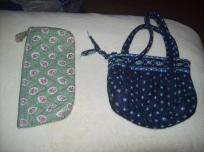 Vera Bradley Lot Purse & Make-up bag (free shipping)