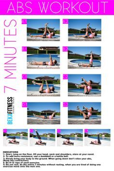 7 Minutes Abs workout