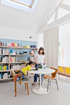 Louise Desrosiers, Reportage chez la créatrice Caroline Gomez, Bordeaux. MilK Decoration, Septembre 2012.