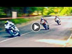 All riders survived these crashes. Top Speed hairpin corners and straights over a 38 mile road circuit.- - - Street - Race - ♛ - ✔ ~★~SPECTACULAR~TT~★~ ✔ Isle_of_Man_TT Bike Engine, Real Racing, Motosport, Its A Mans World, Racing Motorcycles, Isle Of Man, Street Bikes, Parkour, Extreme Sports