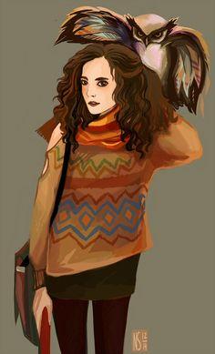 Hermione again by nastjastark on DeviantArt