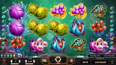 Frutoids - art direction for yggdrasil gaming on behance 슬롯 머신, 게임 ui, 서양식, Jack O'connell, Casino Theme Parties, Casino Party, Casino Night, Casino Games, Play Casino, Pinup Art, Sharon Stone, Game Background