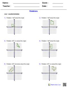 Worksheets, Geometry worksheets and Math on Pinterest