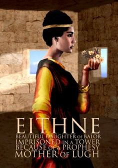 In Irish mythology, Ethniu or Eithne, is the daughter of the Fomorian leader Balor, and the mother of Lugh.