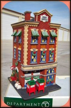 Washington Street Post Office NEW Department Dept. 56 Christmas In The City CIC
