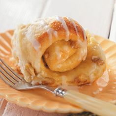 Tender Lemon Rolls    Light and tender, these golden rolls are filled with a lemon curd sauce and lightly glazed. A sprinkle of walnuts, and you have a sweet roll that's difficult to resist.