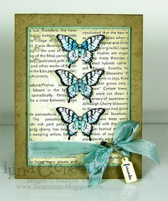 Butterfly card. Stampin' Up! Display Stamper Projects Submission. Papillon Potpourri. @Ilina Tchakarova Crouse.