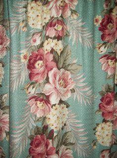Vintage curtain