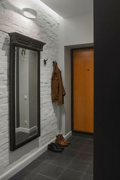 Can adapt this concept to hang light weight mirror at household shelter door and light above?