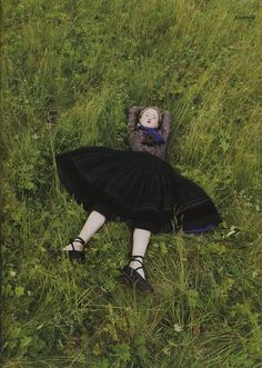 Devon Aoki styled by Venetia Scott for Vogue Russia, October 1998. Photo: Juergen Teller.