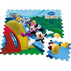 Disney Mickey Mouse Clubhouse Foam Puzzle image-0