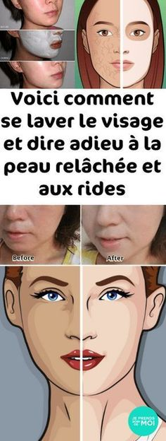 Here's how to wash your face and say goodbye to loose skin and wrinkles - Best Makeup Ideas 2019 Loose Skin, To Loose, Les Rides, Wash Your Face, Diy Skin Care, Beauty Box, Natural Skin Care, Best Makeup Products, Makeup Tips
