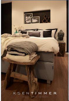 Lederen headboard slaapkamer