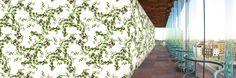 Wallfashion: FRONT YARD, Botanical Rose, by Muurbloem
