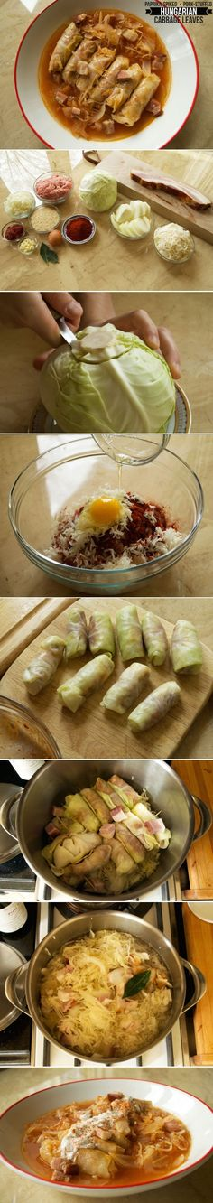 Ah.. Comfort food at its absolute finest. Toltott kaposzta are Hungarian stuffed cabbage rolls with a sumptuous pork filling and, of course, loads of paprika!  Get the recipe at arousingappetites.com/toltott-kaposzta