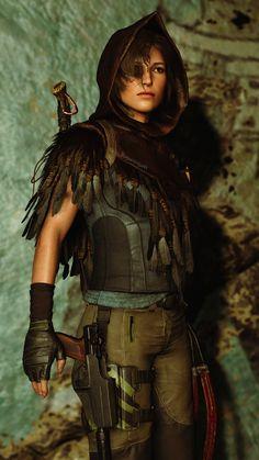 Resident Evil Girl, Tomb Raider Lara Croft, Sci Fi, Wonder Woman, Superhero, Futuristic, Characters, Wallpapers, Games