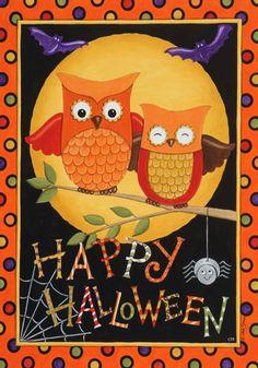 Cute Halloween Garden Flag Halloween Art, Scary Halloween Decorations,  Halloween Clipart, Halloween Prints