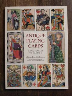 Books 17世紀アンティークトランプの本カード蒐集洋書カラー多数 a509 インテリア 雑貨 家具 Antique ¥1700yen 〆09月21日