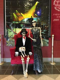 Baxter Skeletons On The Town