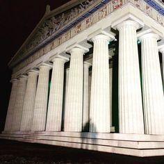Parthenon, Nashville #parthenon #nashville #architecture #shadows