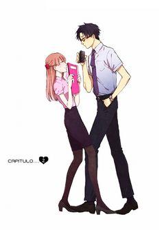[Manga: Wotaku ni Koi wa muzukashii ] on We Heart It Manga Anime, Fanarts Anime, Otaku Anime, Anime Characters, Anime Art, Manga Love, Manga To Read, Anime Love, Awesome Anime