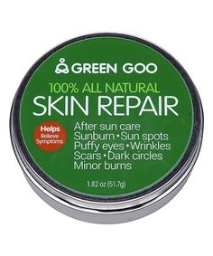 Another great find on #zulily! Green Goo Skin Repair Tin by Green Goo #zulilyfinds
