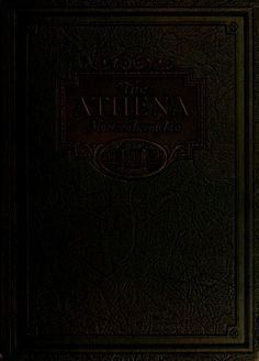 Athena Yearbook, 1922. Click through to see the entire yearbook. :: Ohio University Archives