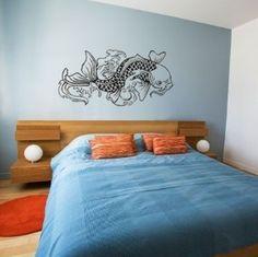 Koi Fish Wall Art