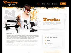 Moonfruit Template - Collage #website #design