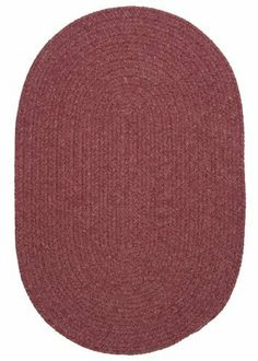 Colonial Mills Bristol WL29 Mauve Red 4' x 6' Oval by Colonial Mills. $169.00. Sometimes simple is best. In this wool blend oval rug, yarns in warm, inviting colors create a simple accent and sense of home.