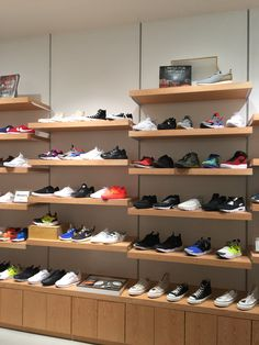 Converse Shop, Visual Merchandising, Shoe Rack, Sneaker, Boutique, Store, Shopping, Display Cases, Sideboard