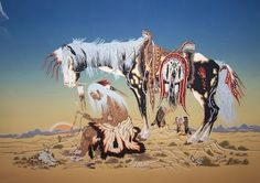 """Native Art Share-Woody Crumbo(7)  (1912-1989) """"Woodrow Crumbo was an American Indian artist, flautist and dancer of Potawatomi descent. His paintings are held by several museums including the Smithsonian Institute and the Metropolitan Museum of Art."""